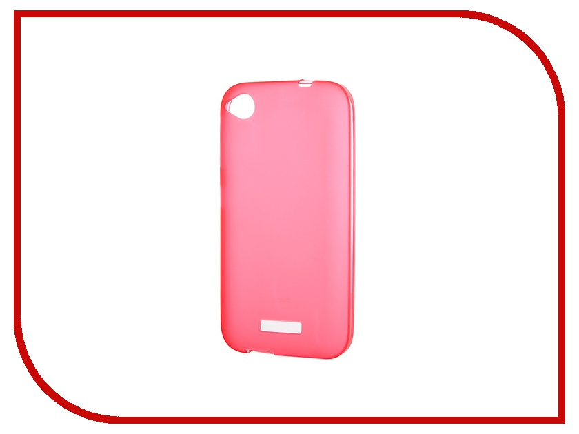 Аксессуар Чехол-накладка HTC Desire 320 Activ Silicone Red Mat 46652 аксессуар чехол накладка htc desire 510 activ silicone white mat 44207