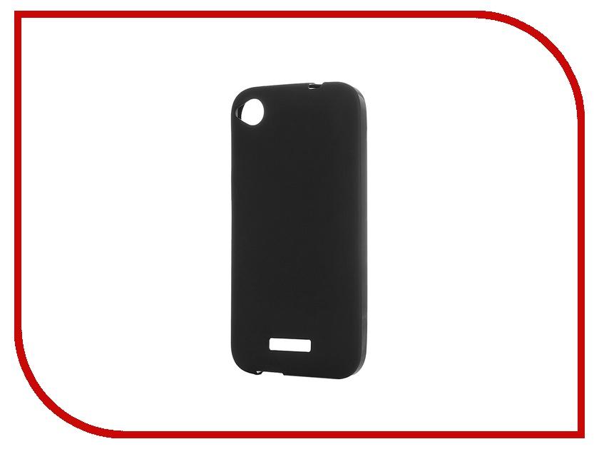 все цены на Аксессуар Чехол-накладка HTC Desire 320 Activ Silicone Black Mat 46651