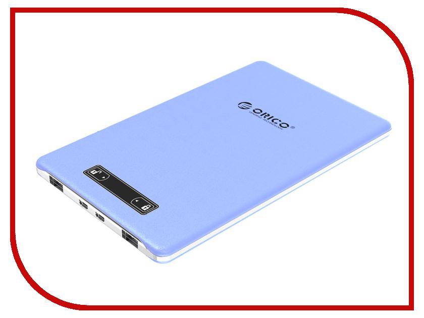 Аккумулятор Orico MPS-2U15A-BL 15000 mAh Blue<br>