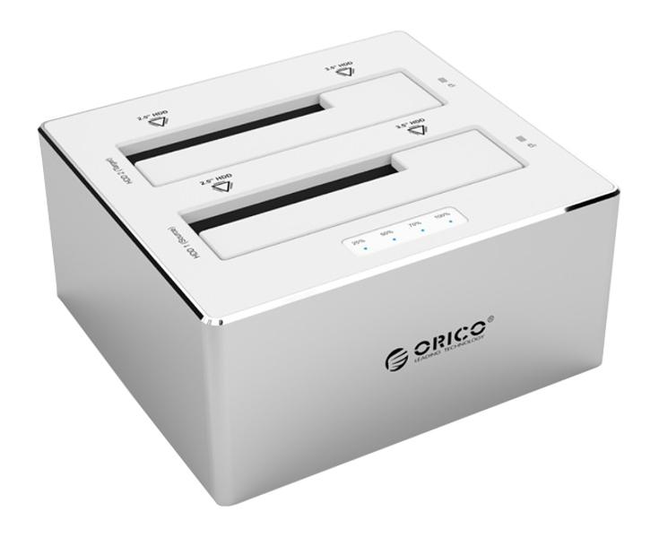 Аксессуар Док-станция для HDD Orico 6828US3-C-SV