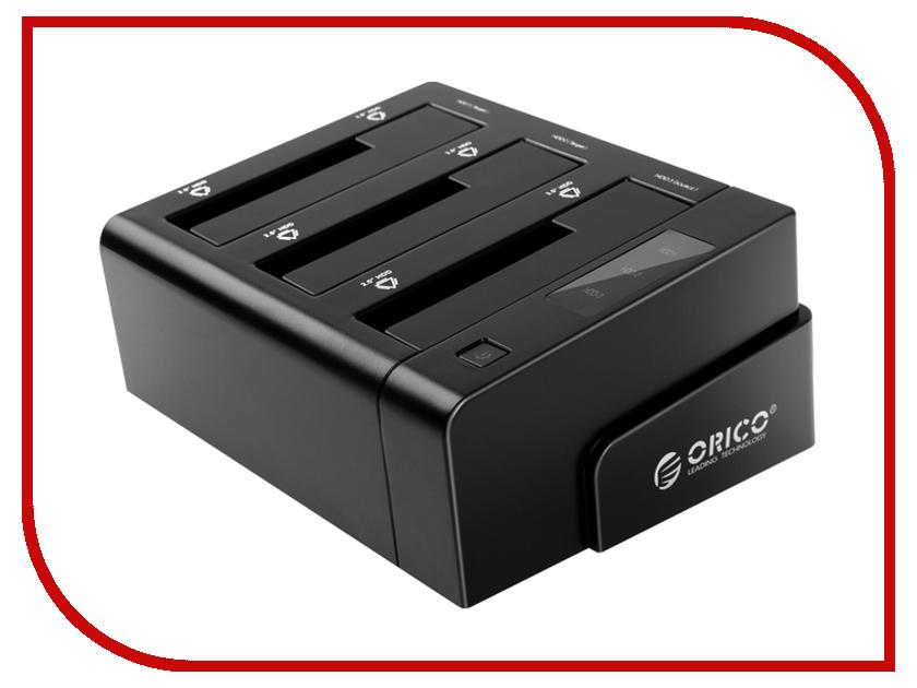 Аксессуар Orico 6638US3-C-BK Black аксессуар orico phe 25 bk black