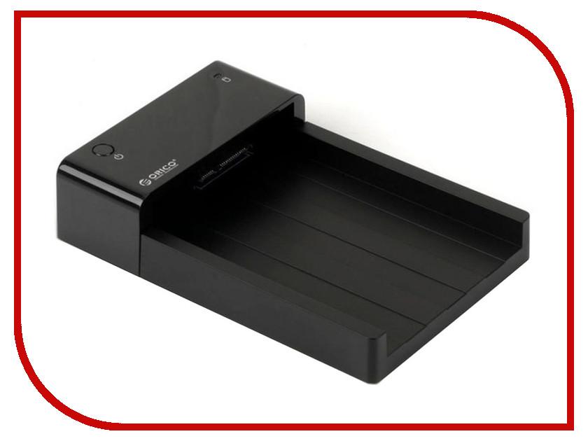 Аксессуар Док-станция для HDD Orico 6518US3 Black сетевое хранилище orico 7618u3rf black