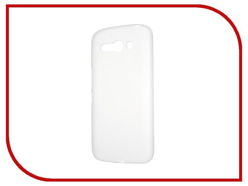 Аксессуар Чехол-накладка Activ for Alcatel Pop C9 OT7047 силиконовый White Mat 41218