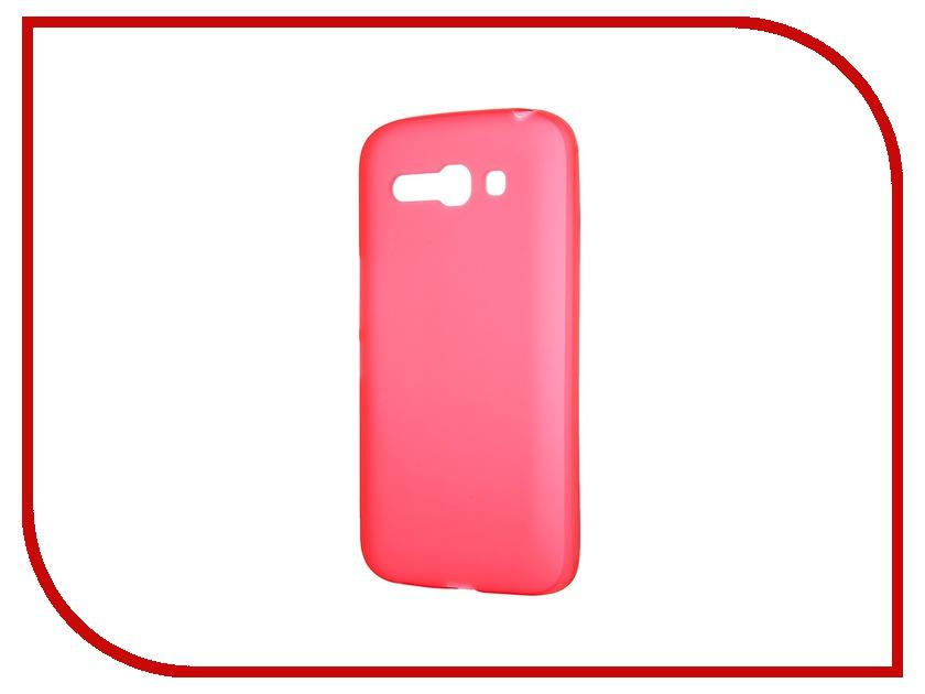 Аксессуар Чехол-накладка Activ for Alcatel Pop C9 OT7047 силиконовый Red Mat 41217