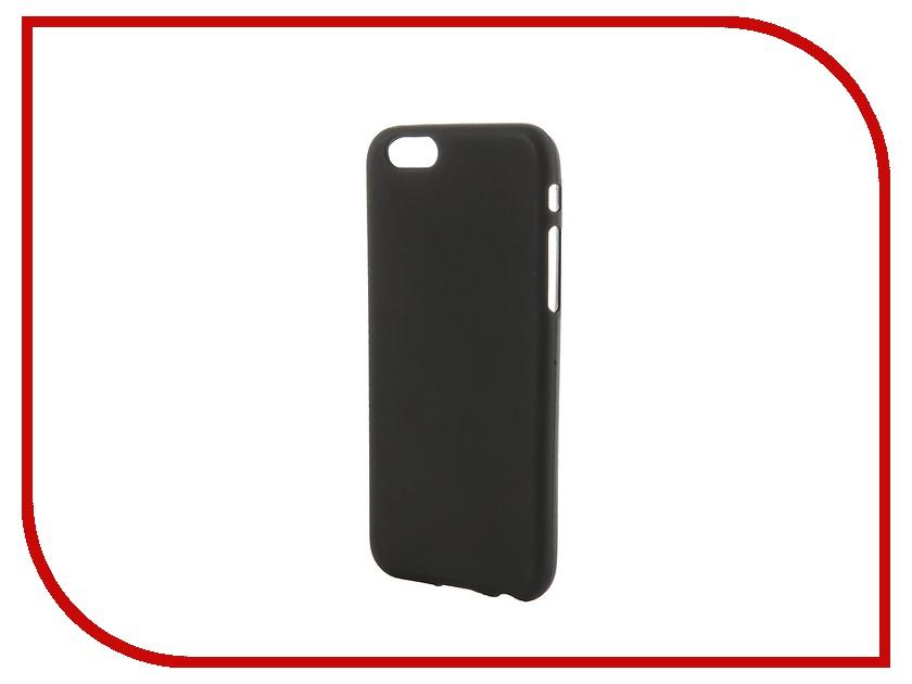 Аксессуар Чехол-накладка Activ для Apple iPhone 6 силиконовый Black Mat 42230<br>
