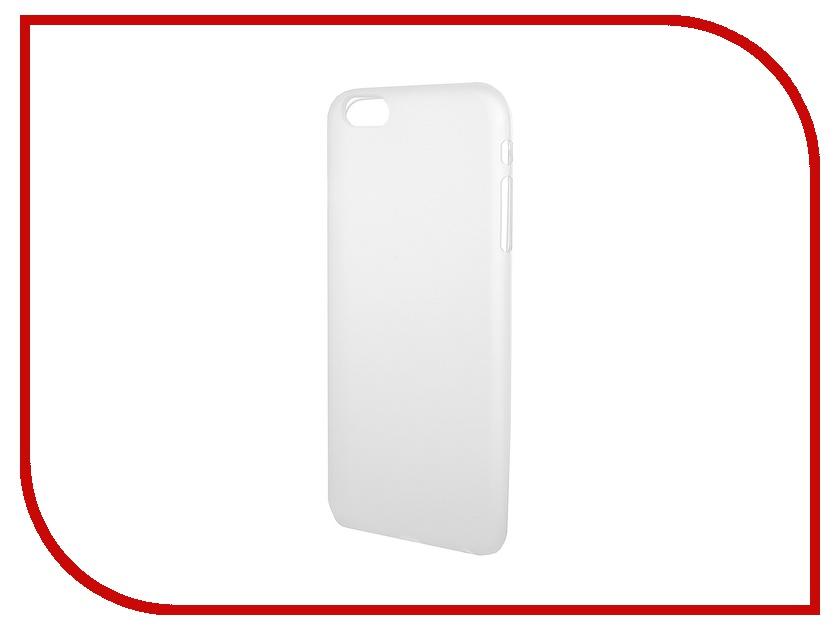 Аксессуар Чехол-накладка Activ для Apple iPhone 6 Plus силиконовый White Mat 42237<br>