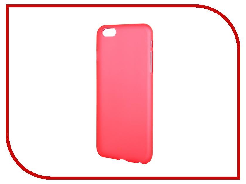 Аксессуар Чехол-накладка Activ для Apple iPhone 6 Plus силиконовый Red Mat 42236<br>