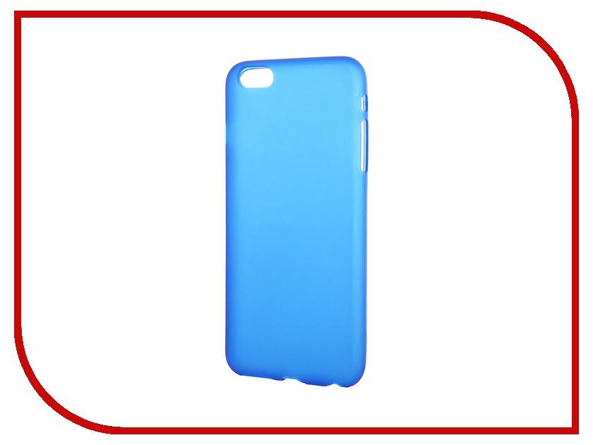 Аксессуар Чехол-накладка Activ для Apple iPhone 6 Plus силиконовый Blue Mat 42235<br>