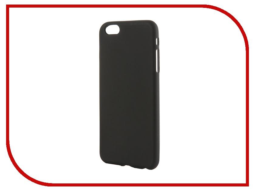 Аксессуар Чехол-накладка Activ для Apple iPhone 6 Plus силиконовый Black Mat 42234<br>