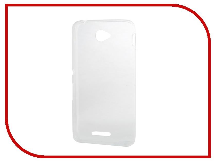 Аксессуар Чехол Sony Xperia E4 Activ Zero 3 Silicone White 47327
