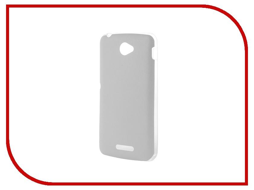 Аксессуар Чехол Activ for Sony Xperia E4 HiCase силиконовый White 48150<br>