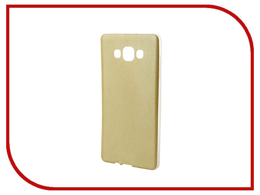 Аксессуар Чехол Activ for Samsung Galaxy SM-A700 A7 HiCase силиконовый Yellow 46471<br>
