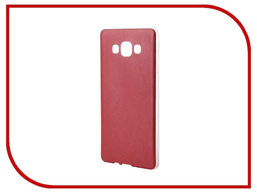 Аксессуар Чехол Activ for Samsung Galaxy SM-A700 A7 HiCase силиконовый Red 46469