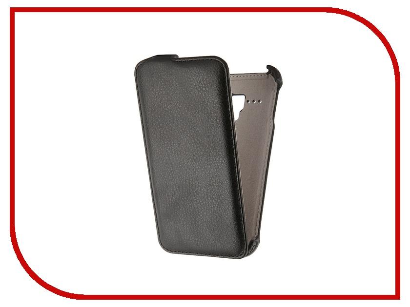 Аксессуар Чехол-флип Alcatel Pop D5 Activ Black 47711 чехол флип для alcatel pop s7 7045y белый armorjacket