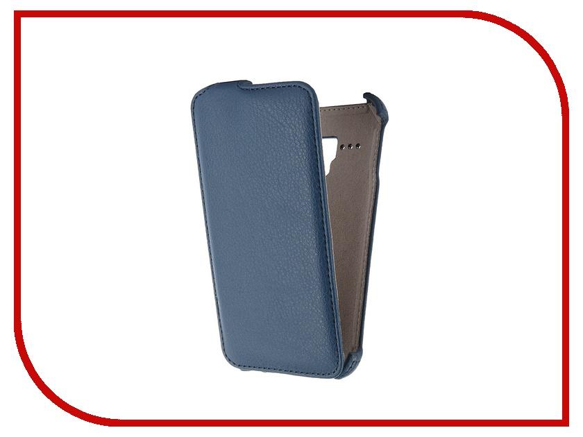 все цены на  Аксессуар Чехол-флип Alcatel Pop D5 Activ Blue 47714  онлайн