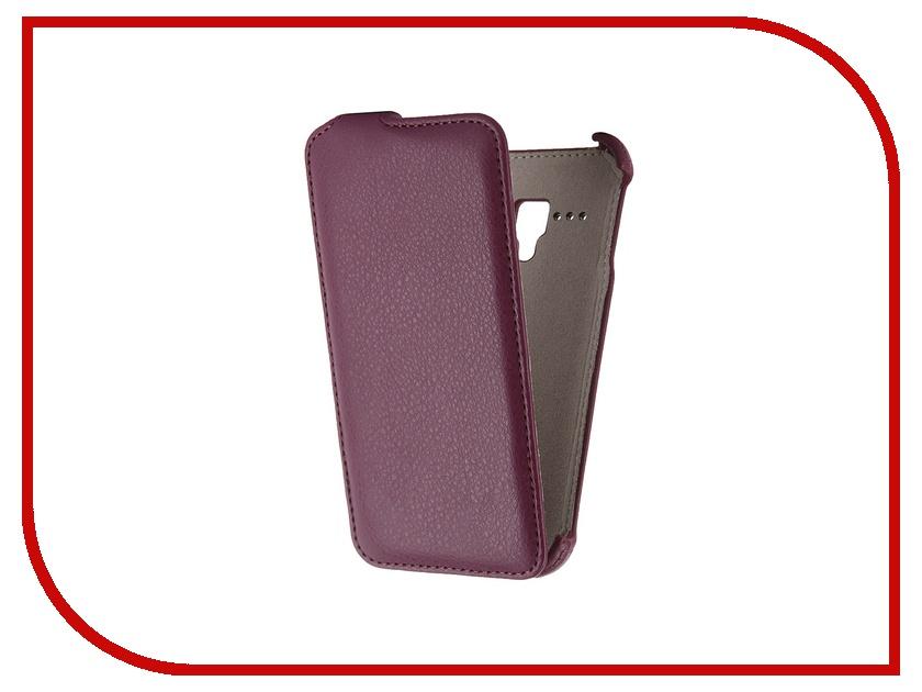 Аксессуар Чехол-флип Alcatel Pop D5 Activ Purple 47715<br>