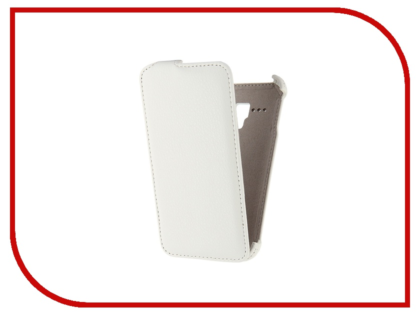 Аксессуар Чехол-флип Alcatel Pop D5 Activ White 47713 чехол флип для alcatel pop s7 7045y белый armorjacket