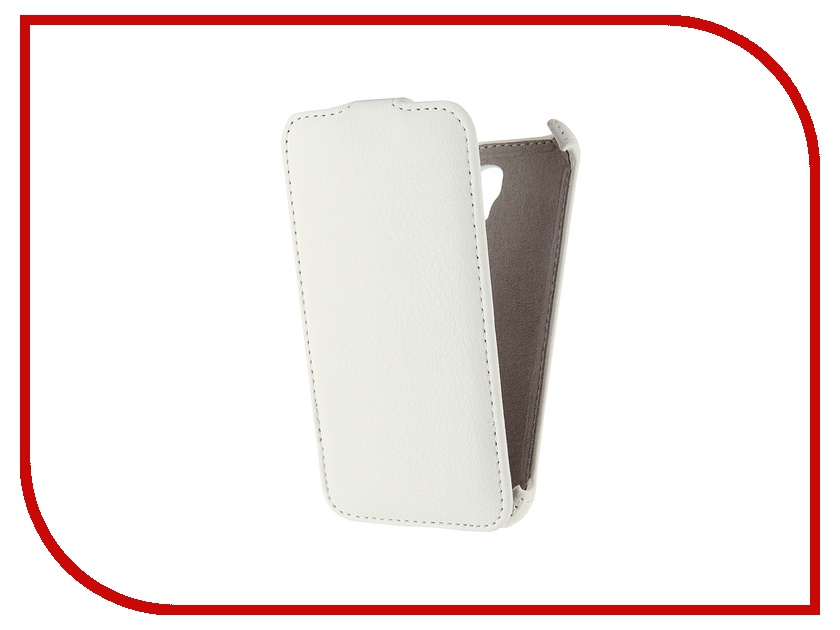 Аксессуар Чехол-флип Alcatel Pop S3 OT5050 Activ White 42424 alcatel ot 5015d pop 3 5 black page 8 page 4