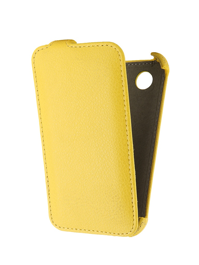 Аксессуар Чехол-флип Lenovo A369 Activ Yellow 43781<br>