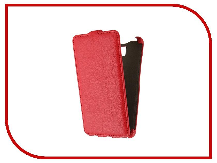 Аксессуар Чехол-флип Lenovo S856 Activ Red 44614<br>