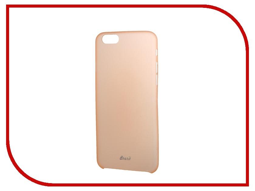 Аксессуар Клип-кейс Brera SLIM для iPhone 6 Orange 42227<br>