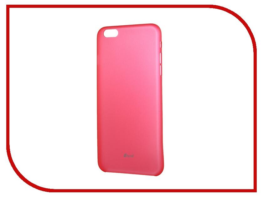 Аксессуар Клип-кейс Brera SLIM для iPhone 6 Plus Red 43910<br>