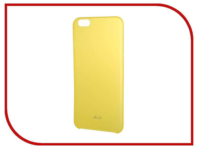 Аксессуар Клип-кейс Brera SLIM для iPhone 6 Plus Yellow 43914<br>