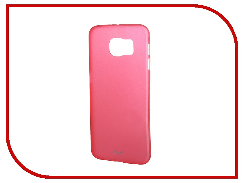 Аксессуар Клип-кейс Samsung Galaxy S6 SM-G920 Brera SLIM Red 47960