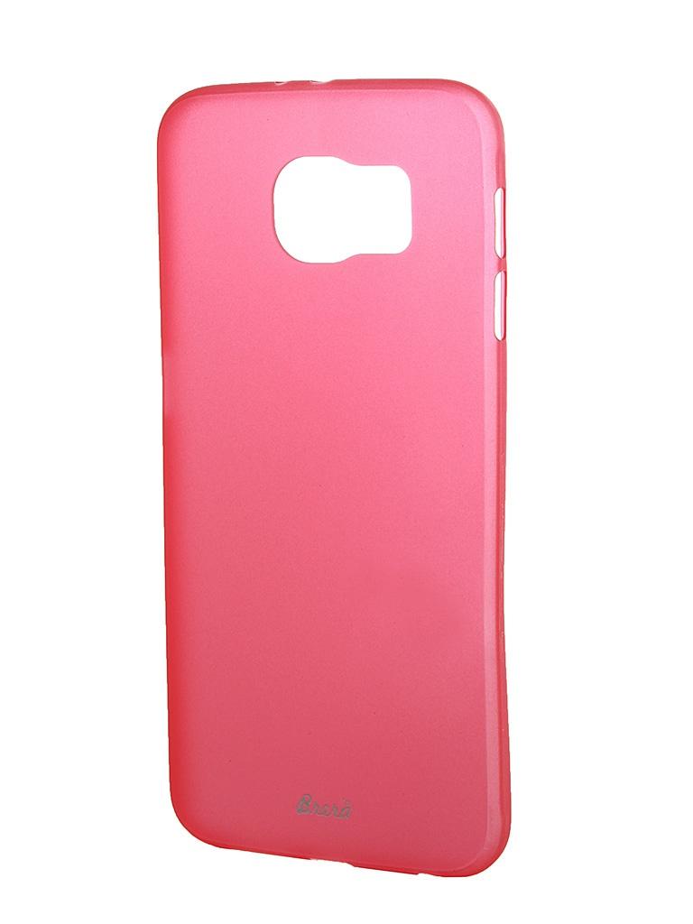 Аксессуар Клип-кейс Samsung Galaxy S6 SM-G920 Brera SLIM Red 47960<br>