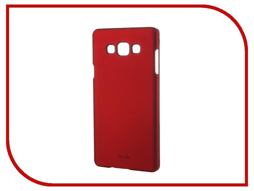Аксессуар Чехол-накладка Samsung Galaxy A7 SM-A700 Moshi Soft Touch Red 48833<br>
