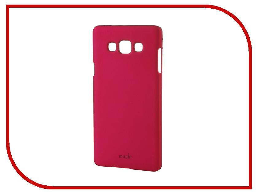 Аксессуар Чехол-накладка Samsung Galaxy A7 SM-A700 Moshi Soft Touch Rose 48834<br>