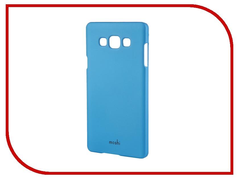 Аксессуар Чехол-накладка Samsung Galaxy A7 SM-A700 Moshi Soft Touch Sky Blue 48835<br>