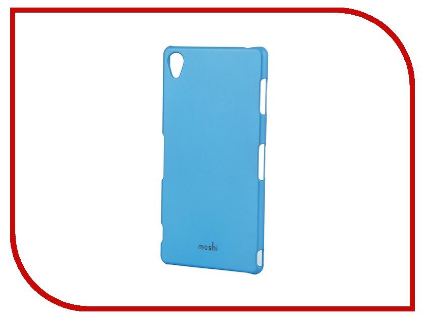 Аксессуар Чехол Sony Xperia Z3 Compact Moshi Soft Touch Sky Blue 48932