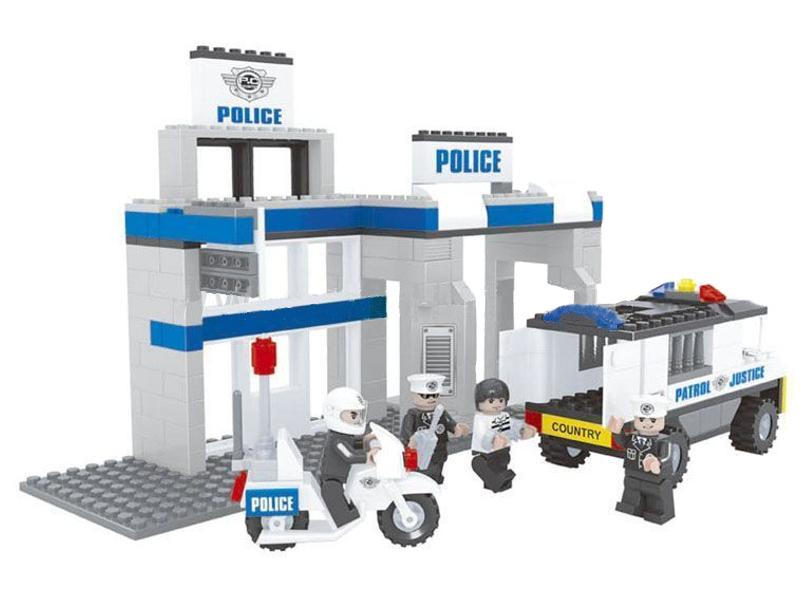 Конструктор Ausini Полиция 286 дет. 23603<br>