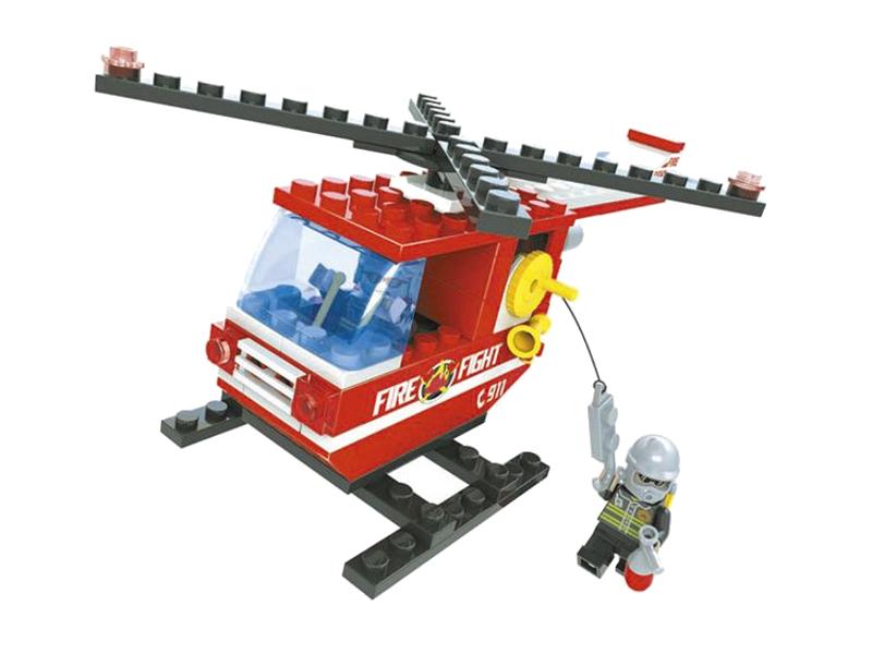Конструктор Ausini Пожарные 105 дет. 21302 конструктор lepin builerds морские приключения 669 дет 24050