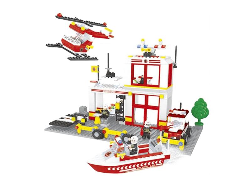 Конструктор Ausini Пожарные 433 дет. 21701 конструктор guidecraft io blocks 59 дет g9604