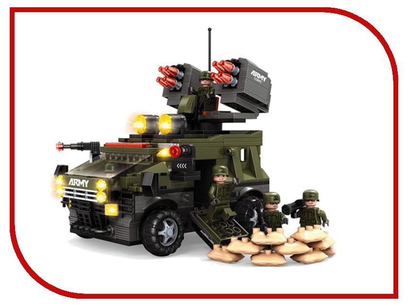 Игрушка Конструктор Ausini Военные 822 дет. 22704<br>