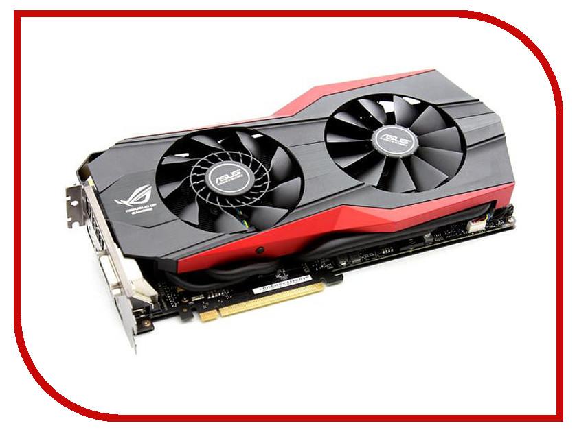 Видеокарта ASUS GeForce GTX 980 1216Mhz PCI-E 3.0 4096Mb 7010Mhz 256 bit DVI HDMI HDCP MATRIX-GTX980-4GD5