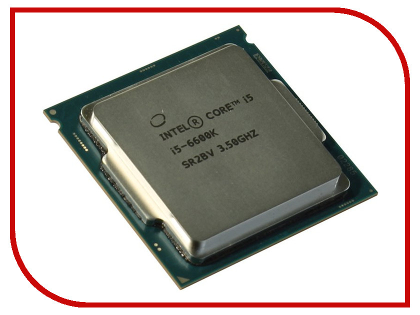 Процессор Intel Core i5-6600K Skylake (3500MHz/LGA1151/L3 6144Kb) 100% new i5 2430m sr04w i5 2430m pga chipset