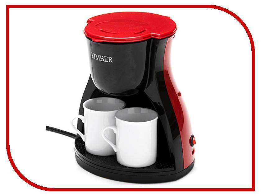 Кофеварка Zimber ZM-10980 10979 электро кофеварка 240мл 450в 2 чашк zm х8