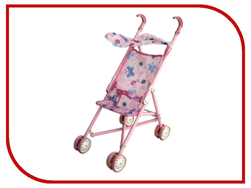 Игра Shantou Gepai Коляска-трость c крышей 12699 uppababy uppababy коляска трость g luxe фиолетовая