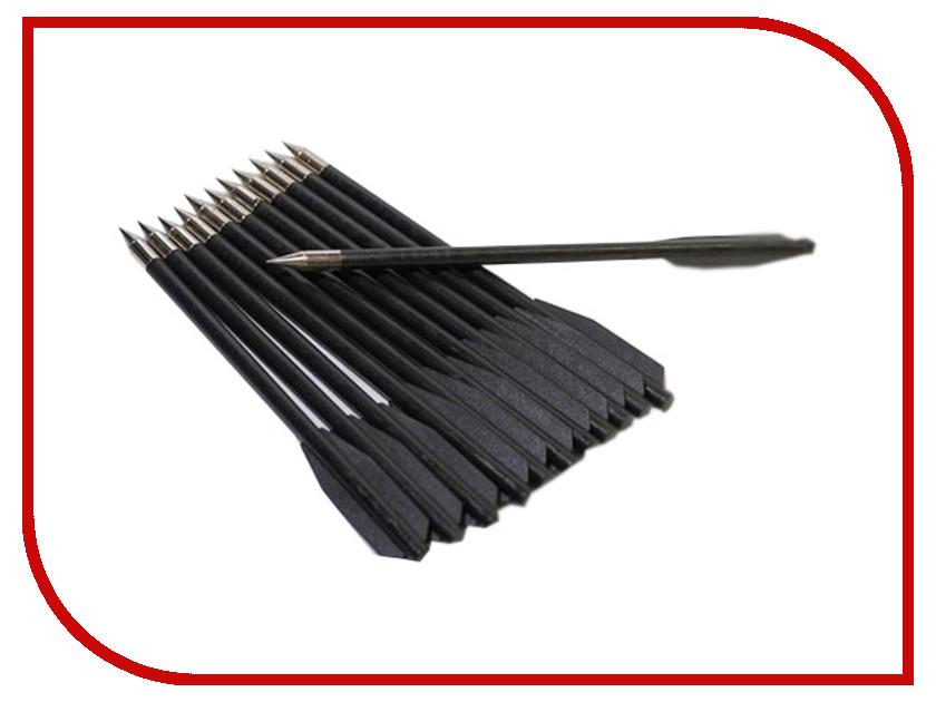 Аксессуар Yarrow Набор стрел для арбалета MK-PL-BK 6.5-inch 12шт Black<br>