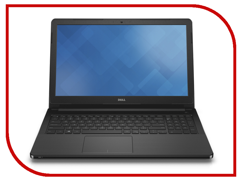 Ноутбук Dell Vostro 3558 3558-8211 Intel Core i3-4005U 1.5 GHz/4096Mb/500Gb/DVD-RW/Intel HD Graphics 4400/Wi-Fi/Bluetooth/Cam/15.6/1366x768/Windows 7 Pro 64-bit 318626<br>