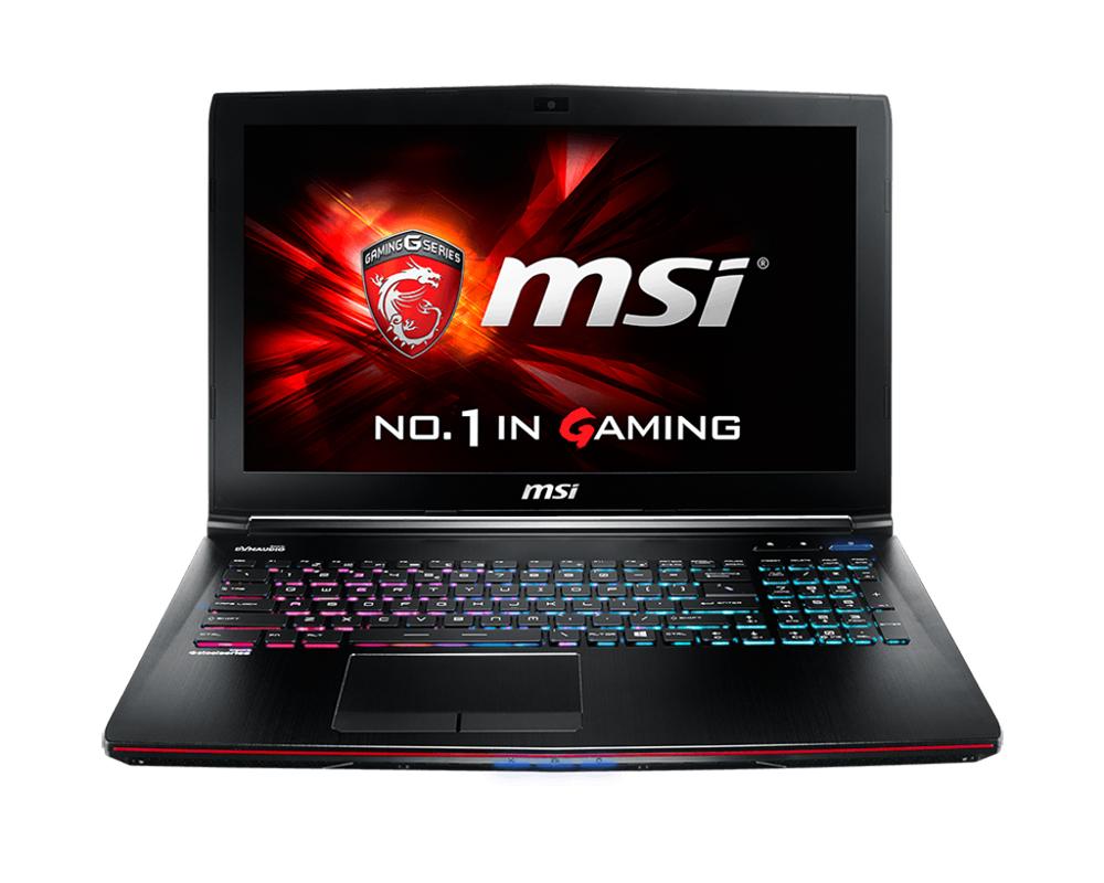 Ноутбук MSI GE62 2QF-243RU Black 9S7-16J112-243 Intel Core i7-5700HQ 2.7 GHz/8192Mb/1000Gb/DVD-RW/nVidia GeForce GTX 970M 3072Mb/Wi-Fi/Bluetooth/Cam/15.6/1920x1080/Windows 8.1 306724