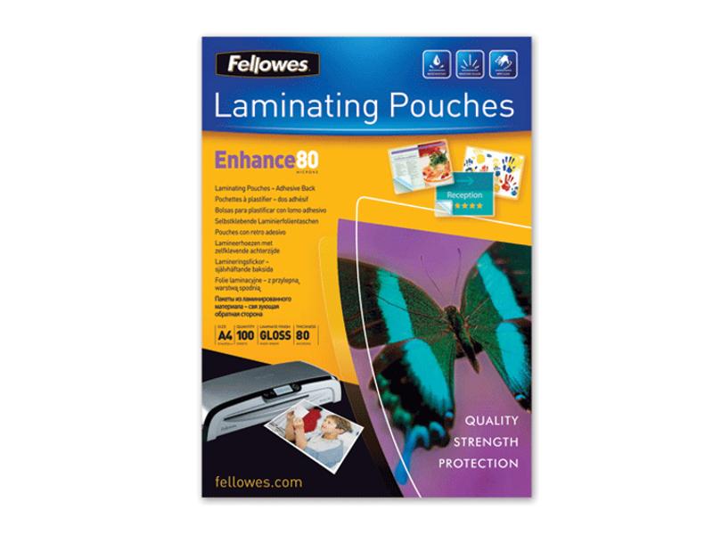 Пленка для ламинирования Fellowes 80мкм 100шт глянец FS-53061 пленка для ламинирования fellowes fs 53061 crc 53061 a4 80мкм 100шт глянцевая
