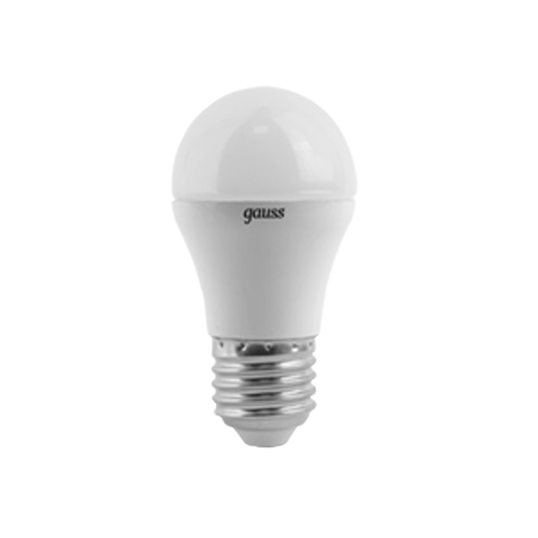 Лампочка Gauss LED Globe E27 6.5W 100-240V 4100K 105102207