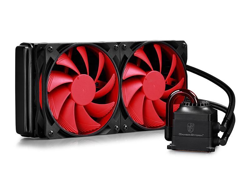 Водяное охлаждение DeepCool Captain 240 (Intel LGA2011-V3/LGA2011/LGA1366/LGA1156/LGA1155/LGA1151/LGA1150/AMD FM2+/FM2/FM1/AM3+/AM3/AM2+/AM2)