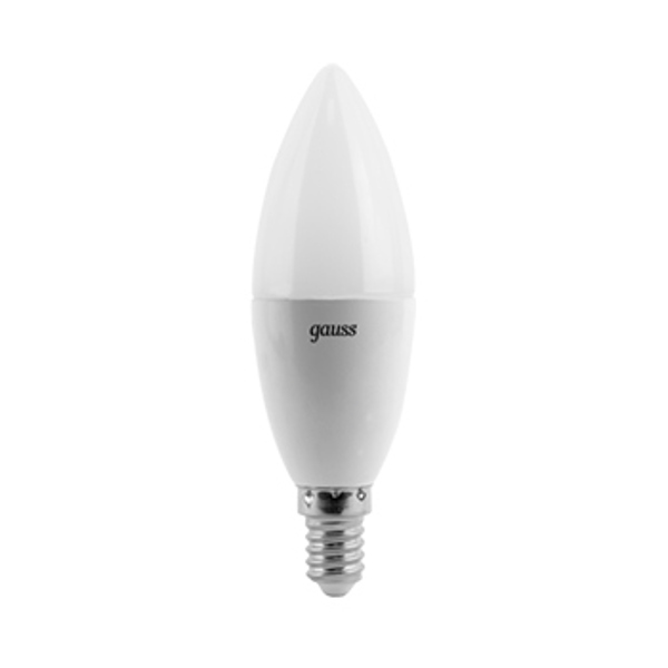 Лампочка Gauss LED Candle E14 6.5W 100-240V 4100К 103101207