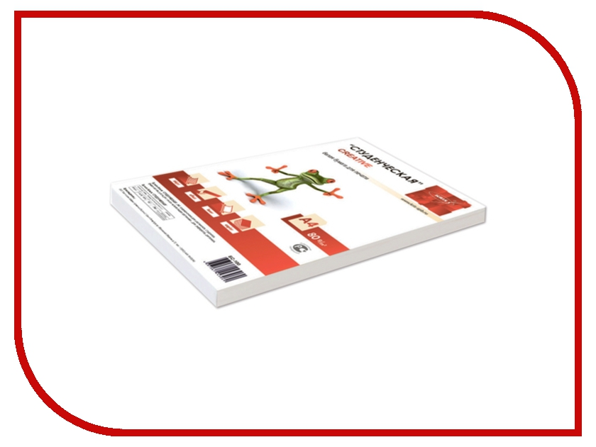 Бумага Creative Студенческая 80г/м2 100 листов 146CIE 5шт