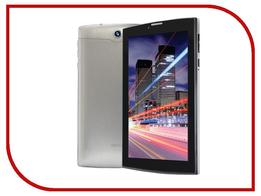 Планшет Ginzzu GT-W170 Grey MTK8735M 1.0 GHz/1024Mb/8Gb/GPS/LTE/Wi-Fi/Bluetooth/Cam/7.0/1024x600/Android
